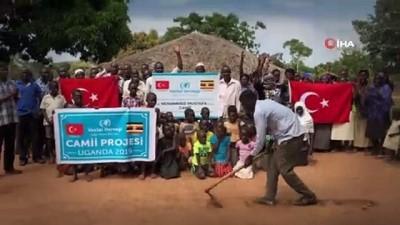 cami insaati -  - Uganda'da 45 kişi müslüman oldu