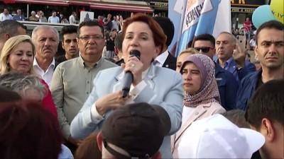 Akşener'in seçim çalışmaları - İSTANBUL