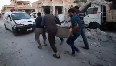 saldiri -  - Esad rejimi İdlib'e saldırdı: 3 ölü