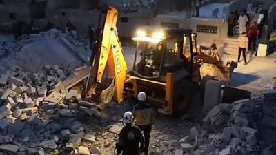 saldiri - İdlib'e hava saldırıları: 5 ölü