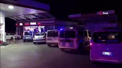 saldiri -  Kuşadası'nda otogaz istasyonuna silahlı 3 kişi saldırıda bulundu, 1 kişi yaralandı