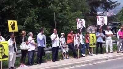 'Muhammed Mursi' için gösteri - SARAYBOSNA