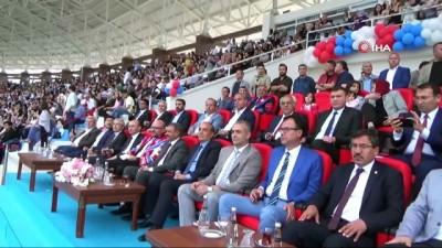 Spor Toto MAKÜ Stadyumunda ilk mezuniyet töreni