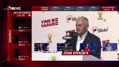 Ekrem İmamoğlu - Binali Yıldırım'dan seçim sonuçları açıklaması