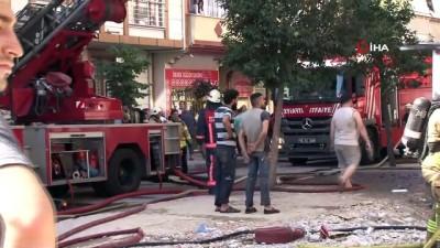 nadan -  Bağcılar'da 5 katlı binada yangın