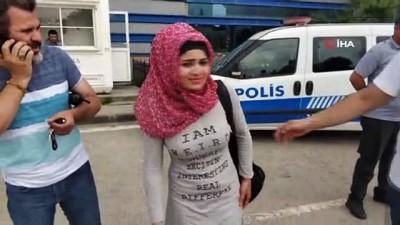 saldiri -  Bıçaklanan Iraklı kuaför kadın gasptan gözaltına alındı