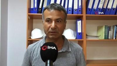 Diyarbakır'da güvenlik tedbirleri alınmayan inşaatlar tehlike saçıyor