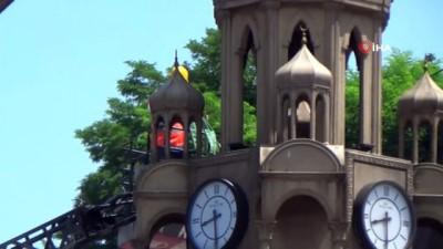 Giresun'da tartışmaların odağı olan kule yıkıldı