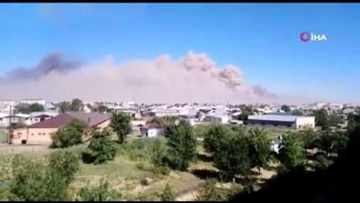 - Kazakistan'da Askeri Mühimmat Deposunda Patlama:11 Yaralı