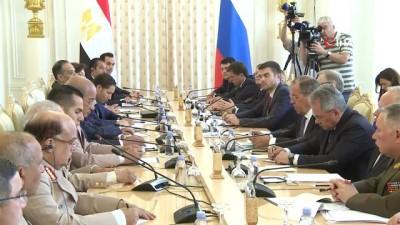 - Rus Ve Mısırlı Dışişleri Bakanları Bir Araya Geldi