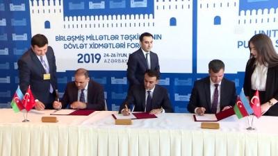 Türkiye ve Azerbaycan arasında e-devlet protokolü - BAKÜ