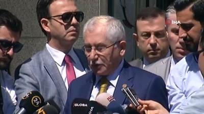 YSK Başkanı Sadi Güven: 'Katılım oranı yüzde 84,5 olarak gerçekleşmiştir'