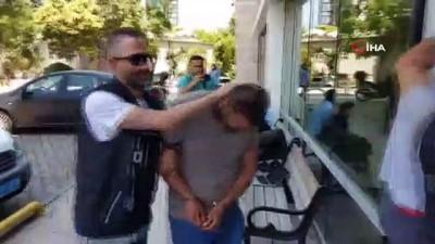 4 yabancı uyruklu şahsa uyuşturucu ticaretinden gözaltı