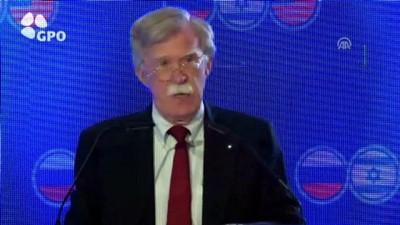 ABD Ulusal Güvenlik Danışmanı John Bolton - KUDÜS