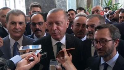 dayatma -  Cumhurbaşkanı Erdoğan: ''Böyle bir şey yapılması gerekiyorsa, yaparız. Sipariş üzerine bu işler olmaz. Bu vatanı sevenler olarak bunları sürekli gündemde tutmak şık olmaz, şık değil''