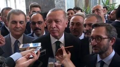 dayatma - Cumhurbaşkanı Erdoğan: '(Kabine revizyonu) Böyle bir şey yapılması gerekiyorsa biz yaparız' - TBMM