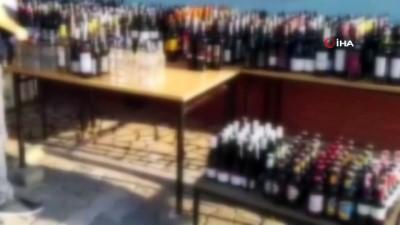 alkollu icecek -  Jandarmadan kaçak içki uygulamasında 6 milyon TL ceza
