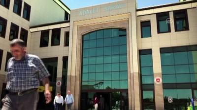 Nevşehir Adliyesi'nde şüpheli toz tedbiri (2)