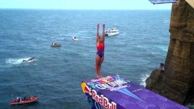 Red Bull Cliff Diving Portekiz'de gerçekleştirildi - SAO MİGUEL