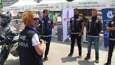 ihbar hatti -  Ankara Narkotik ekipleri halkla iç içe