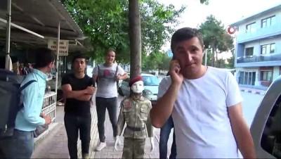 gorev suresi -  Burdur'da askerlerin erken terhis heyecanı