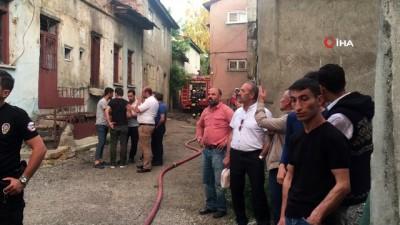 nadan -  Erzurum'da yangın