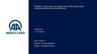 Kapkaç zanlısı tutuklandı - İSTANBUL