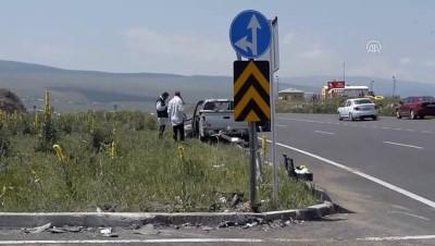 Trafik kazası: 1 ölü, 4 yaralı - ARDAHAN