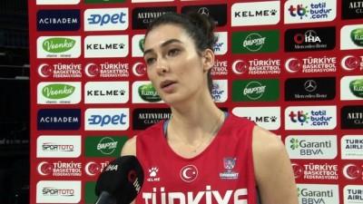 """Tuğçe Canıtez: """"Elimizden gelenin en iyisini yapıp, hedeflerimize ilerleyeceğiz"""" - A Milli Kadın Basketbol Takımı oyuncusu Tuğçe Canıtez: - """"Çok iyi bir kadroya sahibiz"""""""