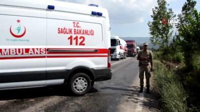 Tokat'ta iki araç kafa kafaya çarpıştı: 1 ölü 3 yaralı