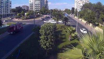 Trafik kazaları KGYS kameralarına yansıdı - ADIYAMAN