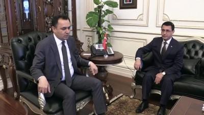 Türkmenistan Büyükelçisi Amanlıyev Yozgat'ta