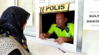 polis kamerasi - 'Uslanmayan sürücü'nün aracı annesine teslim edildi - ANKARA