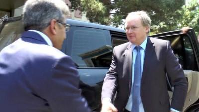AB Türkiye Delegasyonu Başkanı Berger Van'da
