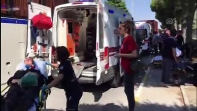 İşçi servisiyle tır çarpıştı: 6 yaralı - MANİSA