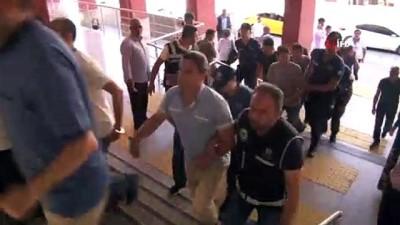 yakalama karari -  Kocaeli'de 9 FETÖ şüphelisi adliyeye sevk edildi