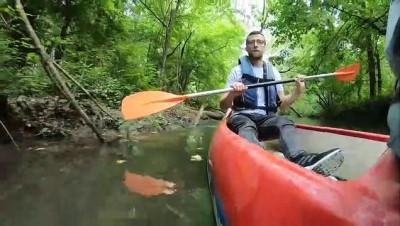 Longoz ormanlarında kano keyfi - KIRKLARELİ