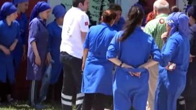 Samsun'da plastik su ürünleri fabrikasında 23 kişi zehirlendi