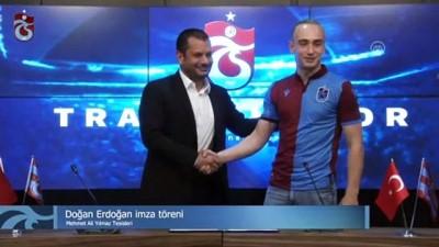 Trabzonspor, Doğan Erdoğan'ı renklerine bağladı - TRABZON
