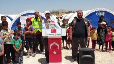 multeci - Sadakataşı ve Fetih-Der'den Suriye'ye çadır kent - İSTANBUL