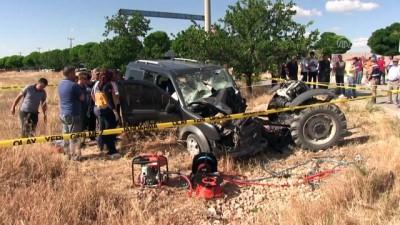 Trafik kazası: 2 ölü, 1 yaralı - KAHRAMANMARAŞ
