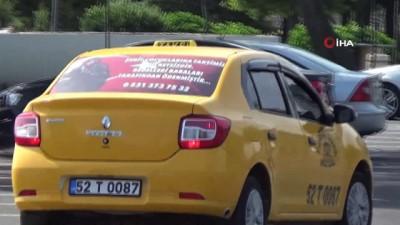 ticari taksi -  Bu taksi şehit ailelerine ücretsiz