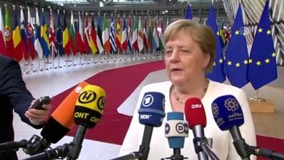 parlamento - AB Liderler Zirvesi başladı - BRÜKSEL