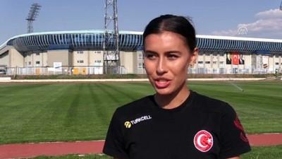 altin madalya - Milli atlet Tuğba Güvenç'in gözü zirvede - ERZURUM