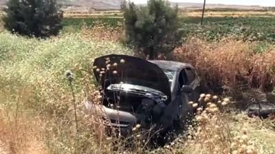 Otomobil şarampole devrildi: 3 yaralı - KİLİS