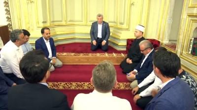 nani - TBMM Başkanı Şentop Manastır'ı ziyaret etti (2)