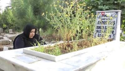 Ceylanpınar'da mezarlıklar bayramda ziyaretçi akınına uğradı