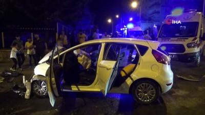 Diyarbakır'da trafik kazası, 1'i çocuk 4 yaralı