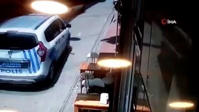 polis merkezi -  Fatih'te dur ihtarına uymayan sürücü polis alarma geçirdi...Kovalamaca kamerada