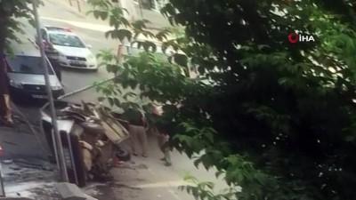 kiraathane -  Kahveye dalan otomobil sürücüsü hayatını kaybetti